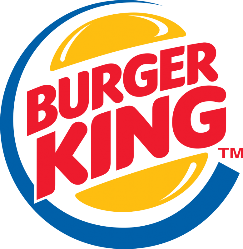 Exemple de logo combiné (Burger King)